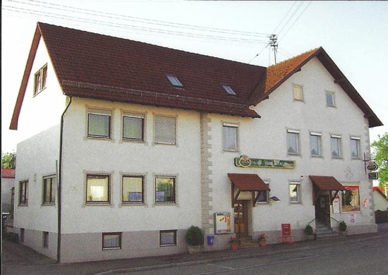 Gasthaus und Metzgerei zum Adler in Tapfheim